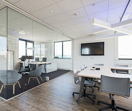Lichtwerkt project kantoor